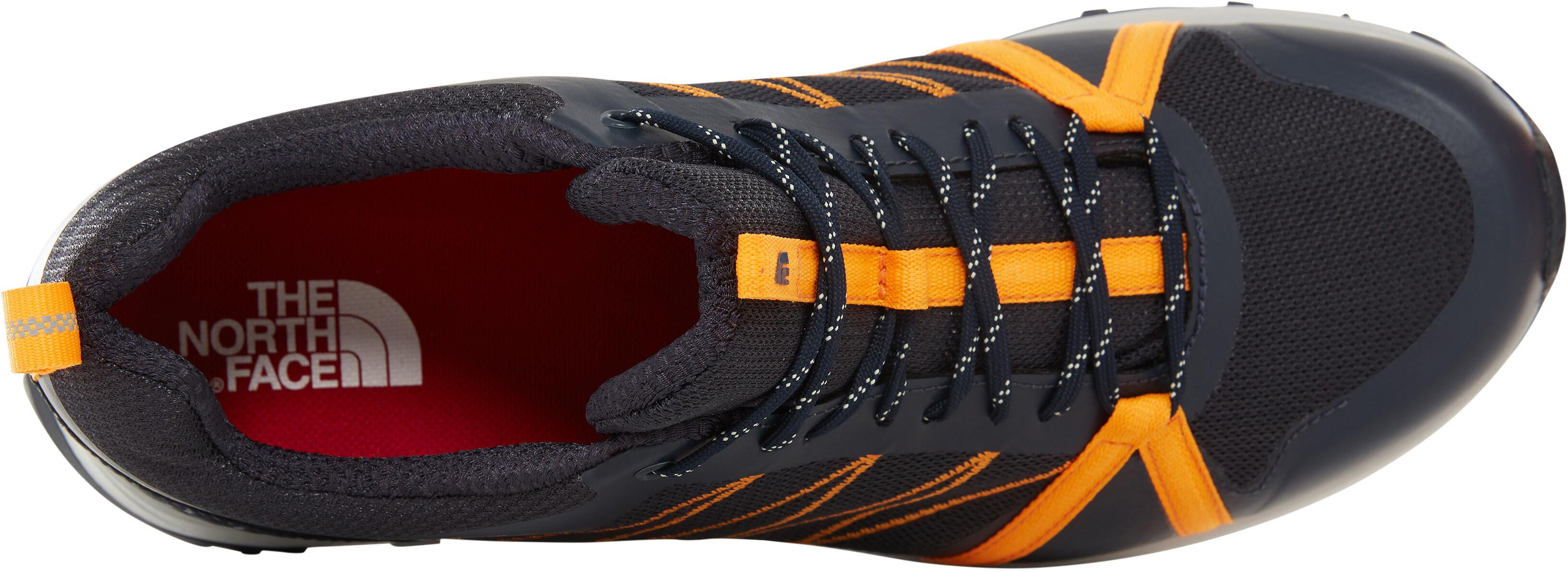 7d736141220b0 The North Face Litewave Fastpack II GTX Shoes Men orange blue at ...